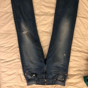 7 for all mankind relaxed skinny size 27